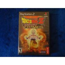 Dragon Ball Z Budokai Tenkaichi - Playstation 2 1era Edición