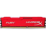 Memoria Ram Ddr3 8gb 1600mhz Hyperx Fury Red Hx316c10fr/8