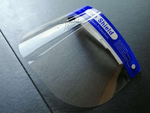 Careta Protector Face Shield Original Lavable Calibre 20