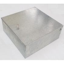 Registro Telefónico 56x56x13cm Galvanizado Caja Metálica