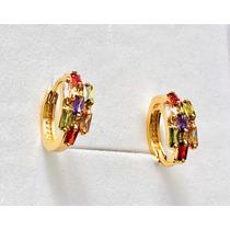 744421bade30 Aretes Oro Con Piedras con los mejores precios del Mexico en la web ...