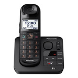Teléfono Inalámbrico Panasonic Kx-tgl430 Negro