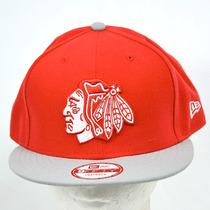 Blackhawks Nhl Hockey New Era Gorra Snapback 100% Original