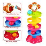 Juguete Bebé Torre Pelotas Estimulación Desarrollo Roll Ball