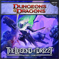 Dungeons And Dragons The Legend Of Drizzt Juego De Mesa