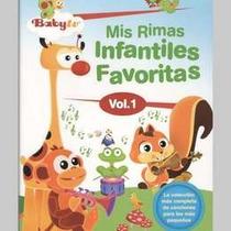 Mis Rimas Infantiles Favoritas Vol 1 Baby Tv Dvd Nuevo