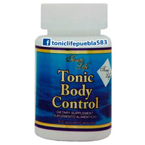 T. Body Control. Tonic L. Frasco Con 30 Cáp. Bajar De Peso.