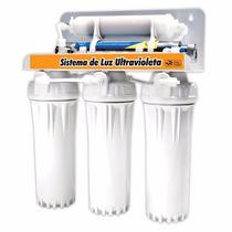 Purificador Agua 5 Etapas Filtro Ultravioleta 6w Abrillantad