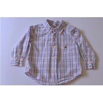 B058 Blusa Camisa Baby Gap Para Niña Talla 2 Años