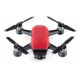 Drone Dji Spark Fly More Combo Con Cámara Hd Lava Red