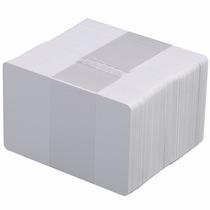 Paquete 250 Tarjetas De Pvc Cr80 Blancas P/ Credenciales