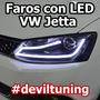 Faros Led Vw Jetta A6 Mk6 @ Vikto