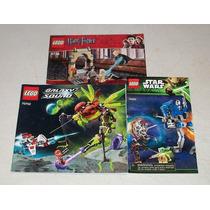 Lego Star Wars Harry Potter Lego Galaxy Squad Instructivos
