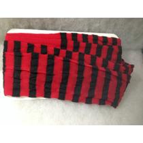 Mallas Delgadas Nylon Rayada Rojo Con Negro Niña