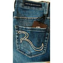 Rock And Republic Jeans Berlin Para Dama Talla 2 R. True R