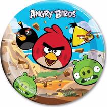 Platos Vasos Desechables Todo Fiesta Angry Birds