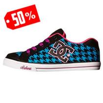 Oferta Tenis Dc Shoes Chelsea Txt - 303344bbkb Sh+