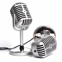 Microfono Retro Vieja Escuela Pc Lap Chat Skype Face Karaoke