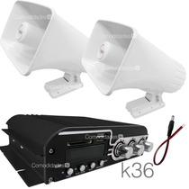 Kit Publidifusion 3 Portable Perifoneo Estereo Mp3/usb 1200w