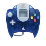 Juegos,sega Dreamcast Controller - Azul..