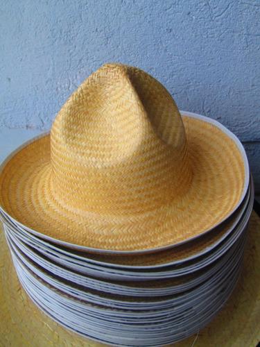 50 Sombrero Jarocho Palma Niño Adulto Fiesta Boda Mayoreo 34ab34cd98f