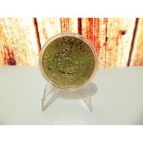 Oferta Moneda Calendario Azteca Bañada En Oro 24k