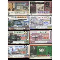 16 Billetes Loteria Politécnico Nacional