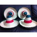 10 Sombrero Zapata Niño Adorno Septiembre Mexico Fiestas