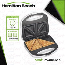 Sandwichera Blanca 2 Rebanadas Proctor Silex Hamilton Beach