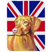 Vizsla Con La Bandera De La Unión Jack Británica Inglés D