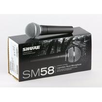 Shure Sm58 Micrófono Profesional Dinámico De Hong Kong!!