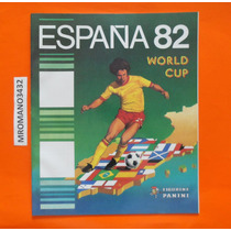 Album Mundial España 82 Replica Reimpresión Hecha X Panini