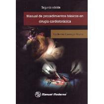 Manual Procedimientos Básicos Cirugía Cardiotorácica.novedad
