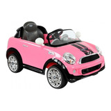 Carro Electrico Prinsel Mini Cooper Rosa