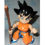 Figura Dragon Ball Z Goku Movible Con Luz 15 Cm Niño