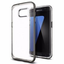 Funda Galaxy S7 Edge Spigen Neo Hybrid Crystal Codigo Autent
