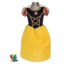 Disfraz Vestido Blanca Nieves Disney Store Talla 6