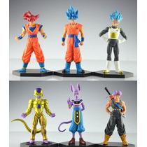 Dragon Ball Super Goku Vegeta Bills Freezer Coleccionables