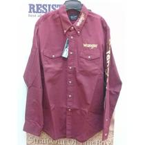 cc19c3f65c Busca Camisas wrangler color vino con los mejores precios del Mexico ...