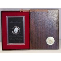 Moneda Eisenhower 1971 S Proof En Caja Original.
