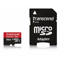 Tarjeta De Memoria Trascend 64gb Clase 10 Ultra High Speed