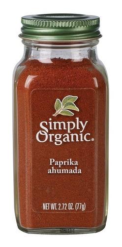 Simply Organic Paprika Ahumada 77 Gr