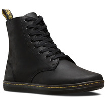 Sneaker Hombre Tobias Black Greasy Lamper Negro Dr Martens