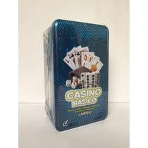 Casino Básico Cartas Cubilete Dominó Nuevo