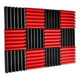 Kit  20 Paneles Acusticos Peine O Piramide 5cm Muy Grueso