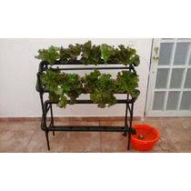 Sistema Hidropónico Casero Ntf - Hidroponia - Cultivo