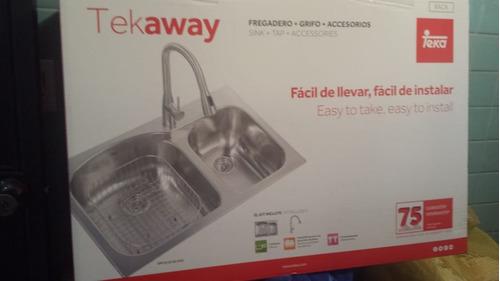 Kit teka fregadero grifo accesorios mod dm 2c - Teka accesorios cocina ...