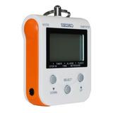 Metrónomo Digital Cronómetro Reloj Color Naranja Seiko Dm-90