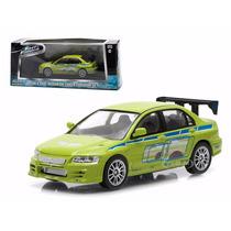 Greenlight Lancer Evolution 7 Rapido Y Furioso Fast Furious