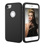 Protector Slim Case Uso Rudo Para iPhone XS Xs Max  Xr X 6 7 8  Plus